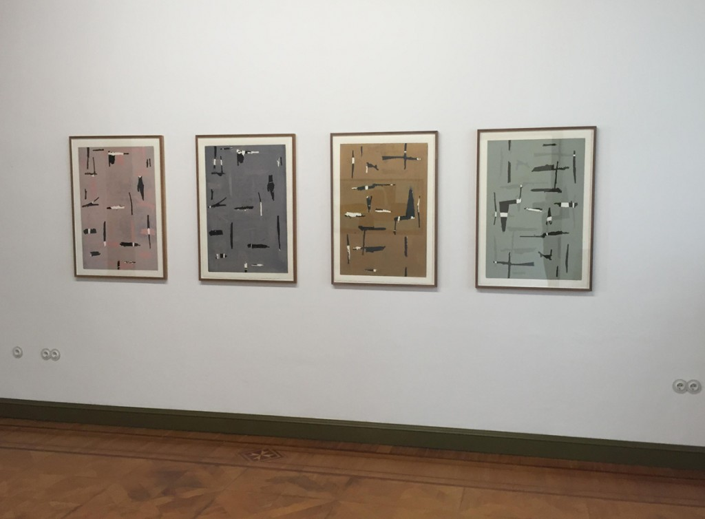 Heinrich Modersohn Holzdruck auf Bütten, 2012